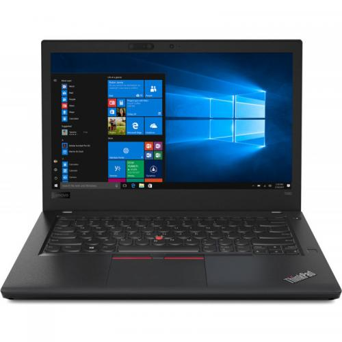 Laptop Lenovo ThinkPad T480, Intel Core i5-8250U, 14inch Touch, RAM 8GB, SSD 512GB, Intel UHD Graphics 620, 4G, Windows 10 Pro, Black