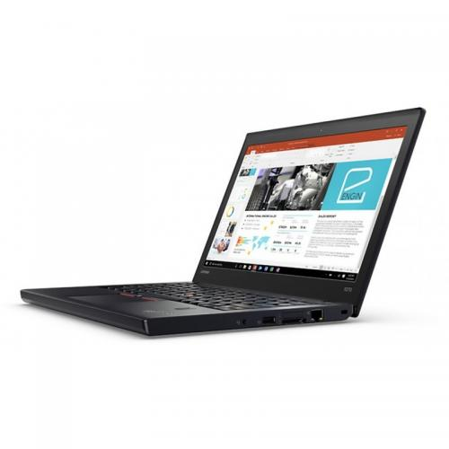 Laptop Lenovo ThinkPad X270, Intel Core i7-7500U, 12.5inch, RAM 8GB, SSD 256GB, Intel HD Graphics 620, Windows 10 Pro, Black