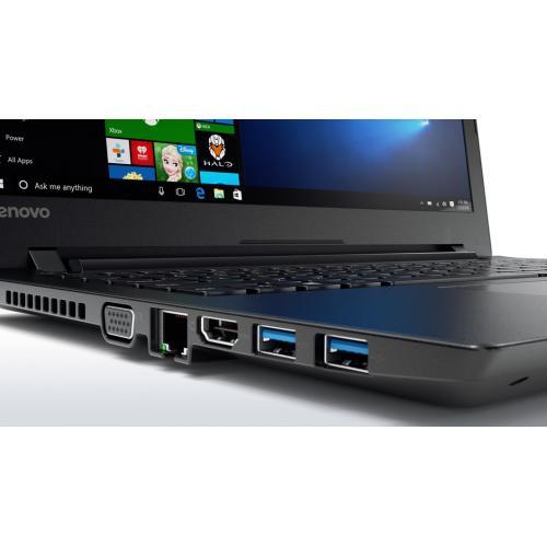 Laptop Lenovo V510-15IKB, Intel Core i7-7500U, 15.6inch, RAM 8GB, SSD 256GB, Intel HD Graphics 620, Free DOS Black