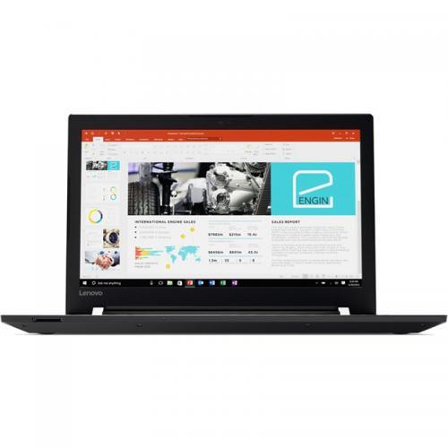 Laptop Lenovo V510, Intel Core i5-7200U, 15.6inch, RAM 8GB, SSD 256GB, AMD Radeon 530 2GB, Free Dos, Black
