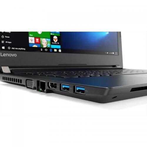 Laptop Lenovo V510, Intel Core i7-7500U, 14inch, RAM 8GB, SSD 256GB, Intel HD Graphics 620, Windows 10 Pro, Black