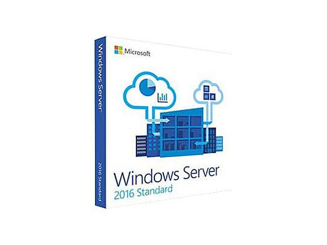Microsoft Windows Server Standard 2016 English 64BIT 5 CLT