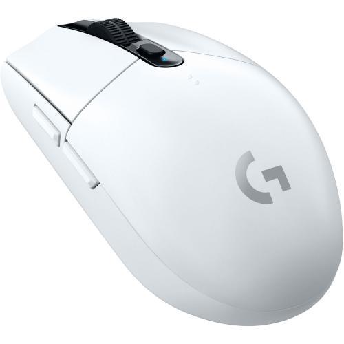 Mouse Optic Logitech G305 LIGHTSPEED, USB Wireless, White