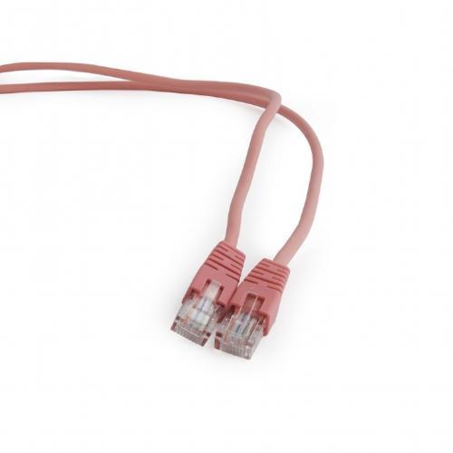 Patchcord Gembird, UTP, Cat.5e, 0.25m, Pink