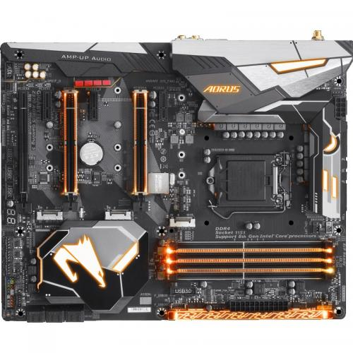 Placa de baza GIGABYTE Z370 AORUS Gaming 5, Intel Z370, Socket 1151 v2, ATX