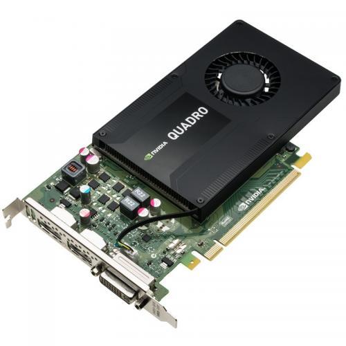 Placa Video Profesionala HP nVidia Quadro K2200 4GB, GDDR5, 128bit