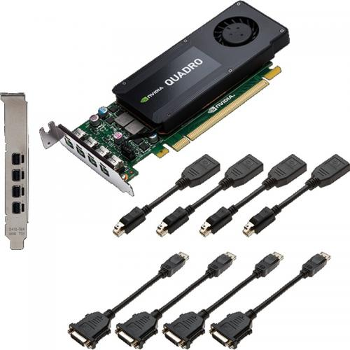 Placa Video Profesionala nVidia Quadro K1200 Low Profile, 4GB, GDDR5, 128Bit