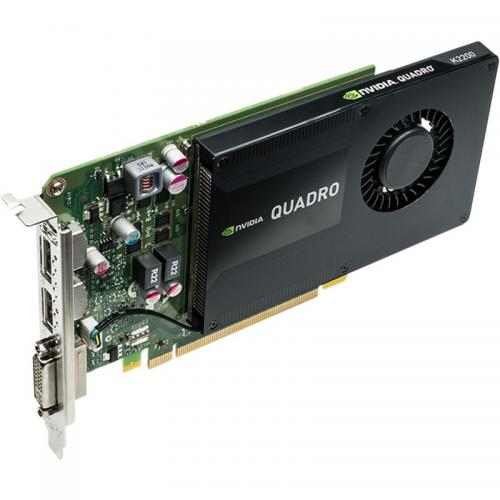 Placa video profesionala PNY nVidia Quadro K2200 4GB, GDDR5, 128bit