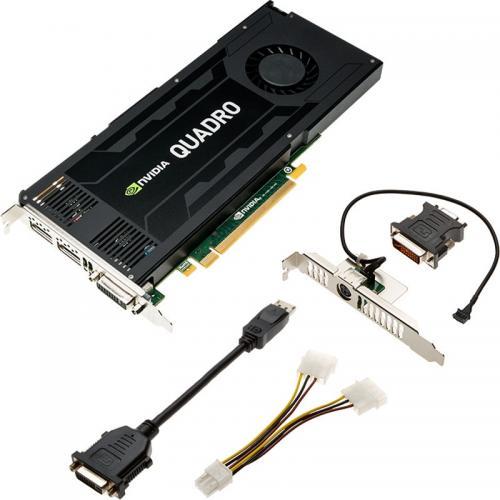Placa video profesionala PNY nVidia Quadro K4200 4GB DDR5, 256bit