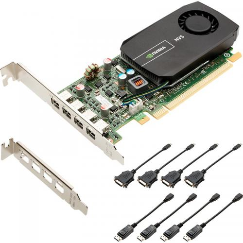 Placa video profesionala PNY nVidia Quadro NVS 510 2GB, GDDR3, 128bit