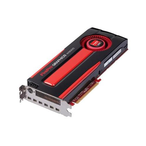 Placa Video Profesionala Sapphire AMD FirePro W9000 6GB, GDDR5, 384bit