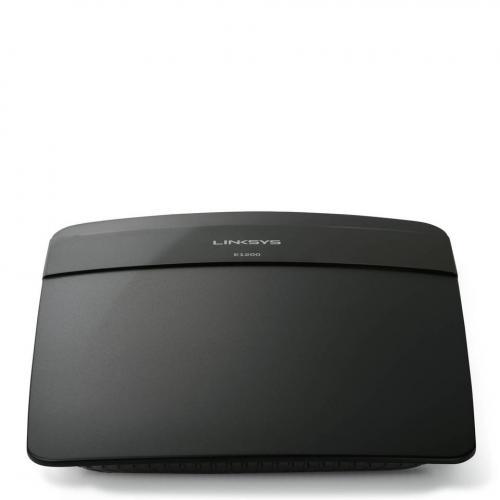 Router wireless Linksys E1200, 4x LAN