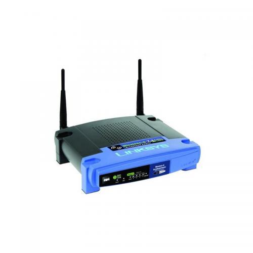 Router wireless Linksys WRT54GL, 4x LAN