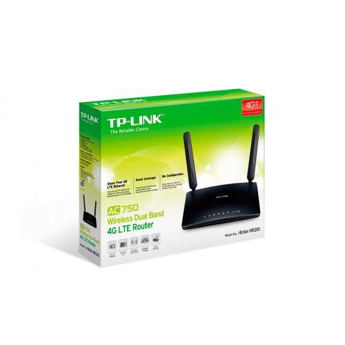 Router Wireless TP-Link Archer MR200, 4x LAN