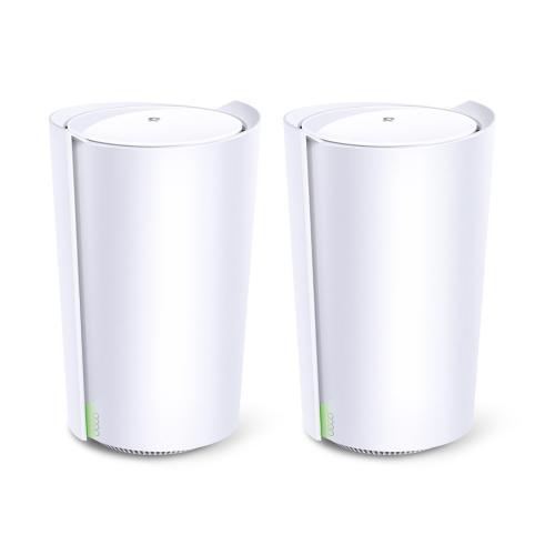 Router wireless TP-LINK AX6600 Mesh Deco X90, 1x LAN, 2 bucati