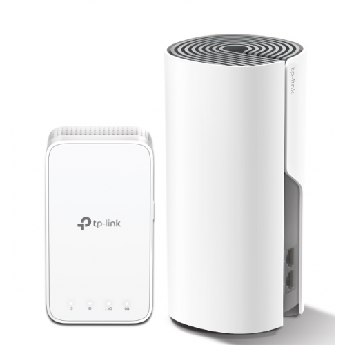 Router wireless TP-Link Deco E3, 1x LAN, Dual-Band, 2 Pack