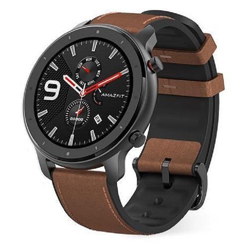 Smartwatch Xiaomi Amazfit GTR 47mm, Black-Brown - DESIGILAT