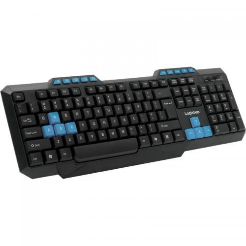 Tastatura LogiStep LSKB-518, USB, Black