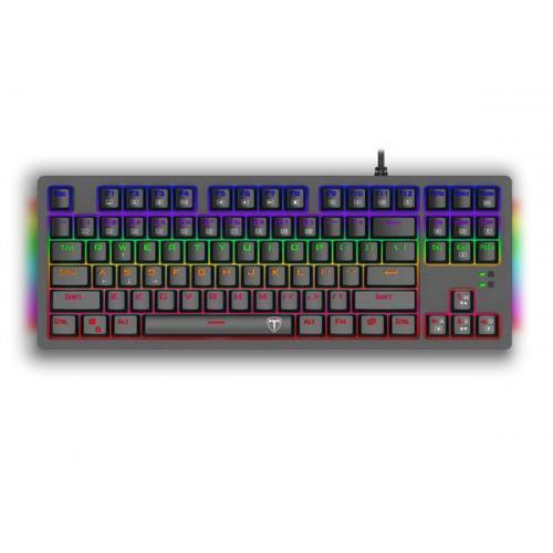 Tastatura T-Dagger Bali, RGB LED, USB, Black