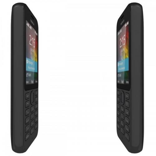 Telefon Mobil Nokia 215 Single SIM Black