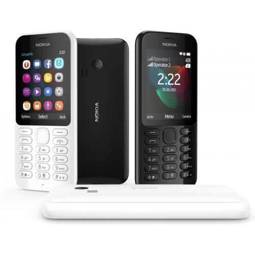 Telefon mobil Nokia 222 DualSim Black