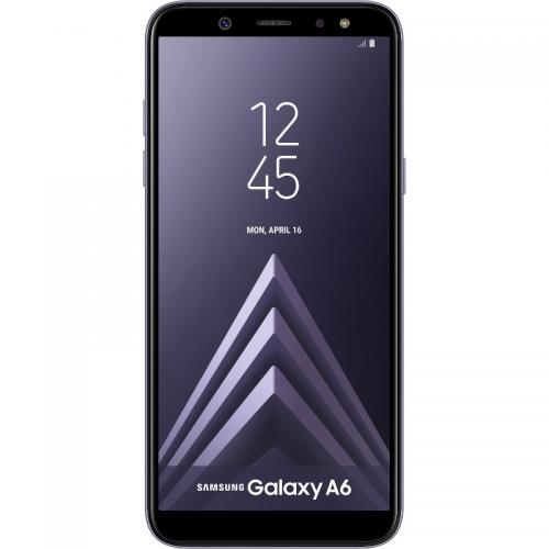 Telefon Mobil Samsung Galaxy A6 (2018) Single SIM, 32GB, 4G, Violet