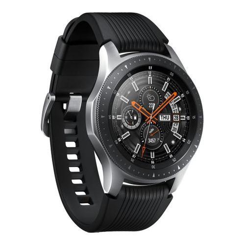 Telefon Mobil Samsung Galaxy S10 Plus, Dual Sim, 1TB, 4G, Ceramic Black + Smartwatch Galaxy Watch R800