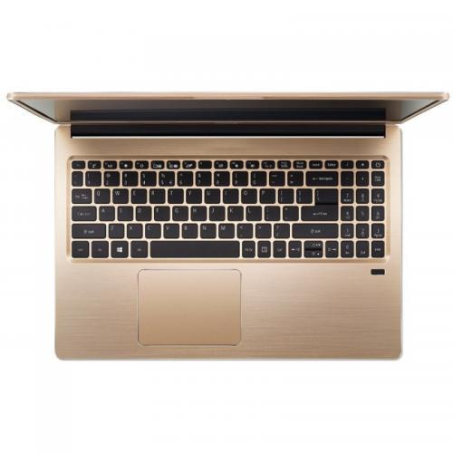 Ultrabook Acer Swift SF315-52G, Intel Core i5-8250U, 15.6inch, RAM 8GB, SSD 256GB, nVidia GeForce MX150 2GB, Windows 10, Luxury Gold