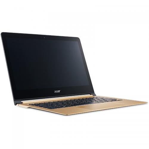 Ultrabook Acer Swift SF713-51, Intel Core i5-7Y54 13.3inch, RAM 8GB, SSD 256GB, Intel HD Graphics 615, Windows 10, Gold