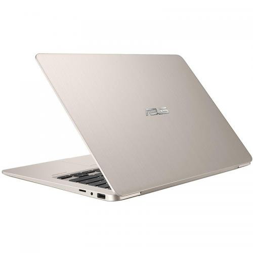Ultrabook ASUS VivoBook S14 S406UA-BM031T, Intel Core i7-8550U, 14inch, RAM 8GB, SSD 256GB, Intel UHD Graphics 620, Windows 10, Icicle Gold