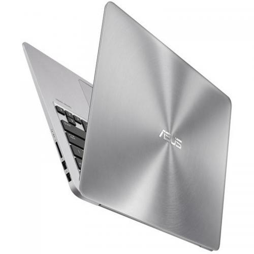 Ultrabook Asus Zenbook UX310UQ-GL014T, Intel Core i5-6200U, 13.3inch, RAM 8GB, HDD 500GB + SSD 128GB, nVidia GeForce 940MX 2GB, Windows 10, Grey