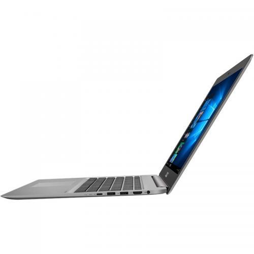 Ultrabook Asus ZenBook UX510UW-CN045R, Intel Core i7-7500U, 15.6inch, RAM 16GB, HDD 1TB + SSD 128GB, nVidida GeForce GTX 960M 4GB, Windows 10 Pro, Silver
