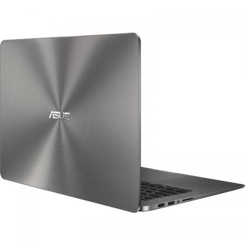 Ultrabook Asus ZenBook UX530UQ-FY003T, Intel Core i5-7200U, 15.6inch, RAM 8GB, SSD 256GB, nVidia GeForce 940MX 2GB, Windows 10, Grey