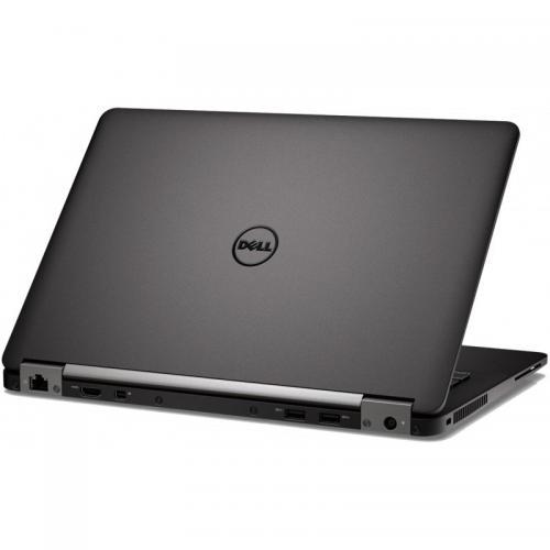 Ultrabook Dell Latitude E7270, Intel Core i7-6600U, 12.5inch, RAM 8GB, SSD 256GB, Intel HD Graphics 520, Windows 10 Pro, Black