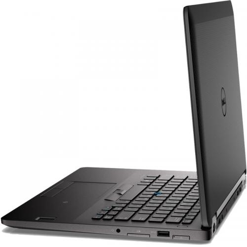 Ultrabook Dell Latitude E7470, 14 inch, Intel Core i7-6600U, RAM 8GB, SSD 256GB, Intel HD Graphics 520, Windows 7 Pro + Windows 10 Pro, Black