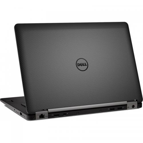 Ultrabook Dell Latitude E7470, Intel Core i7-6600U, 14inch, RAM 8GB, SSD 256GB, Intel HD Graphics 520, Linux, Black