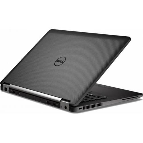 Ultrabook Dell Latitude E7470, Intel Core i7-6600U, 14inch, RAM 8GB, SSD 256GB, Intel HD Graphics 520, Windows 7 Pro + Windows 10 Pro, Black