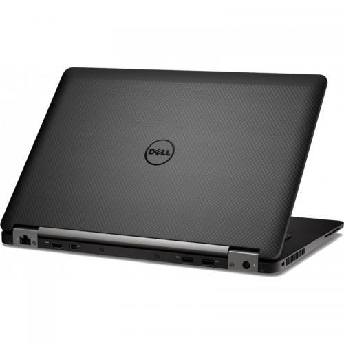 Ultrabook Dell Latitude E7470, Intel Core i7-6600U, 14inch, RAM 8GB, SSD 512GB, Intel HD Graphics 520, Windows 7 Pro + Windows 10 Pro, Black