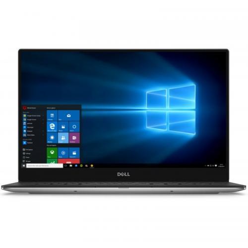 Ultrabook DELL New XPS 13 (9350), Intel Core i5-6200U, 13.3 inch QHD+ Touch, RAM 8GB, SSD 256GB, Intel HD 520, Windows 10, Silver