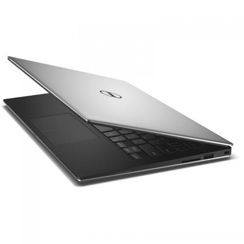 Ultrabook Dell New XPS 13 (9350), Intel Core i5-6300U, 13.3inch Touch, RAM 8GB, SSD 256GB, Intel HD Graphics 520, Windows 10, Silver
