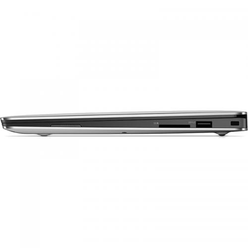 Ultrabook Dell New XPS 13 (9360), Intel Core i7-7500U, 13.3inch, RAM 8GB, SSD 256GB, Intel HD Graphics 620, Linux, Silver
