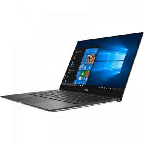 Ultrabook Dell XPS 13 (9370), Intel Core i7-8550U, 13.3inch Touch, RAM 16GB, SSD 1TB, Intel UHD Graphics 620, Windows 10 Pro, Silver