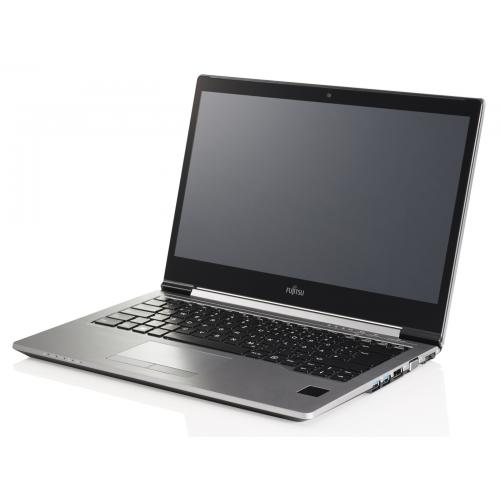 Ultrabook Fujitsu Lifebook U745, Intel Core i5-5200U, 14inch, RAM 8GB, SSD 256GB, Intel HD Graphics 5500, Free Dos, Silver