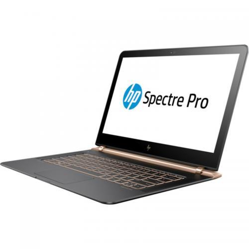 Ultrabook HP Spectre Pro 13 G1, Intel Core i5-6200U, 13.3inch, RAM 8GB, SSD 256GB, Intel HD Graphics 520, Windows 10 Pro, Dark Ash