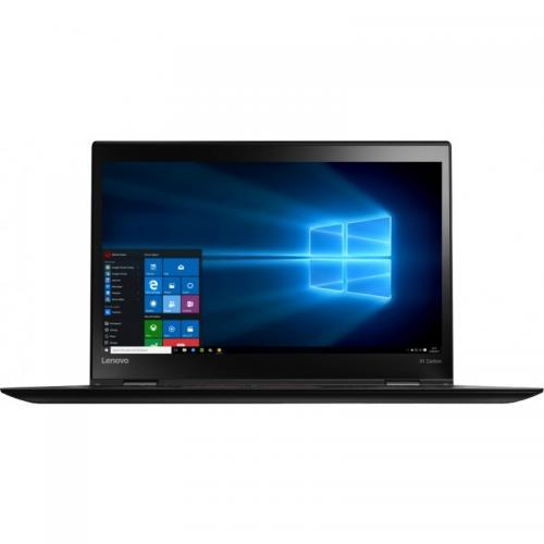 Ultrabook Lenovo New ThinkPad X1 Carbon 4th gen, Intel Core i5-6200U, 14inch, RAM 8GB, SSD 256GB, Intel HD Graphics 520, Windows 7 Pro + Windows 10 Pro, Black