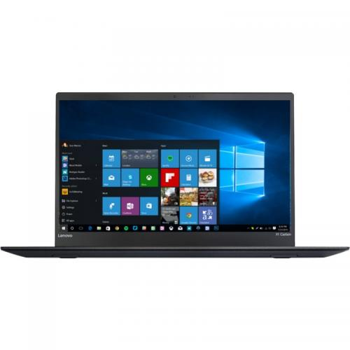 Ultrabook Lenovo New ThinkPad X1 Carbon 5th gen, Intel Core i7-7500U, 14inch, RAM 16GB, SSD 256GB, Intel HD Graphics 620, 4G, Windows 10 Pro, Black