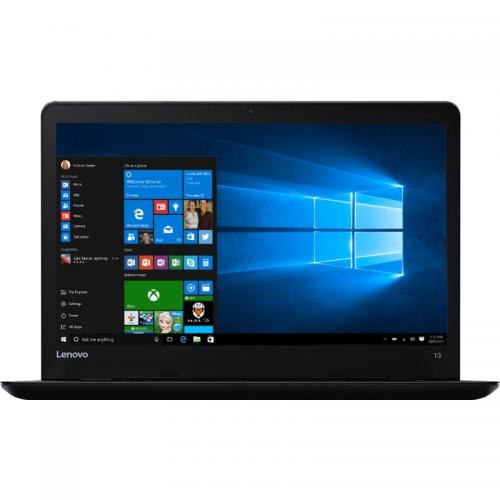 Ultrabook Lenovo ThinkPad 13, Intel Core i3-6100U, 13.3inch, RAM 8GB, SSD 256GB, Intel HD Graphics 520, Windows 10 Pro, Black