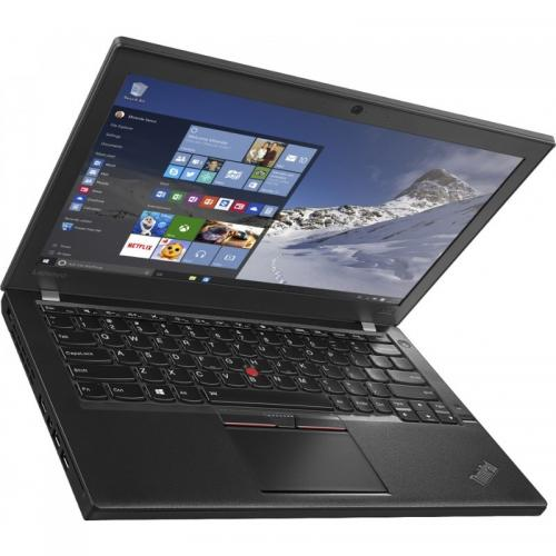 Ultrabook Lenovo ThinkPad X260, Intel Core i5-6200U, 12.5inch, RAM 4GB, SSH 500GB, Intel HD Graphics 520, Windows 7 Pro + Windows 10 Pro, Black