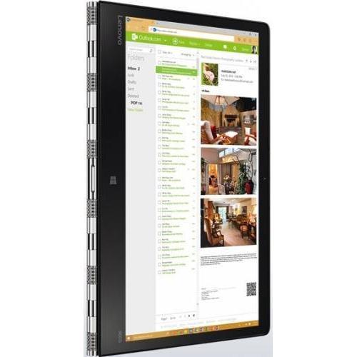 Ultrabook Lenovo Yoga 900s, Intel Dual Core m5-6Y54, 12.5inch Touch, RAM 8GB, SSD 256GB, Intel HD Graphics 515, Windows 10, Silver